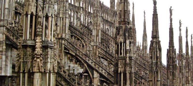 Travel Photo Post & Blog – Milan Duomo (Cathedral)