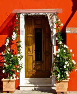 Burano Doorway