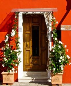 Burano Doorway