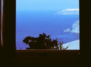 Window to the Sea, Santorini, Greece
